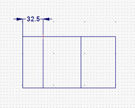 直列寸法の挿入