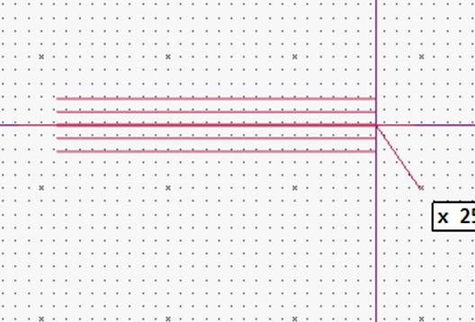 多重線の作成