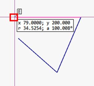閉じていないオブジェクトの面積を測定