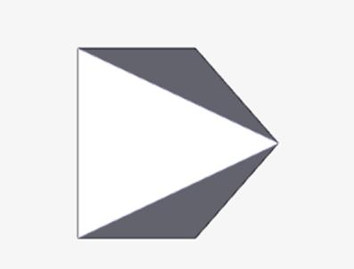 四角錘ソリッドの作成