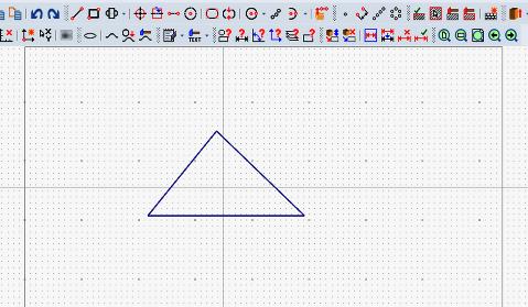 重心位置に作図線を挿入